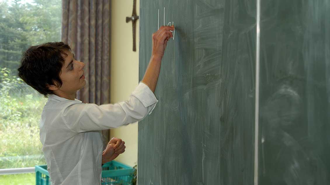 Lehrerin.
