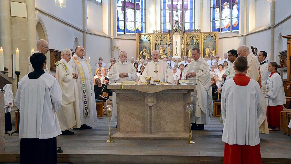 Pontifikalamt in der Marienkirche. Foto: Michaela Kiepe (pbm)