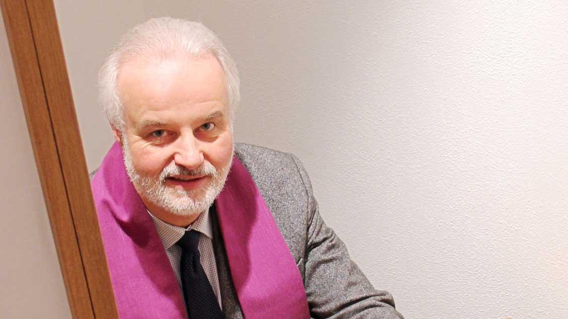 Pfarrer Klaus Lunemann.