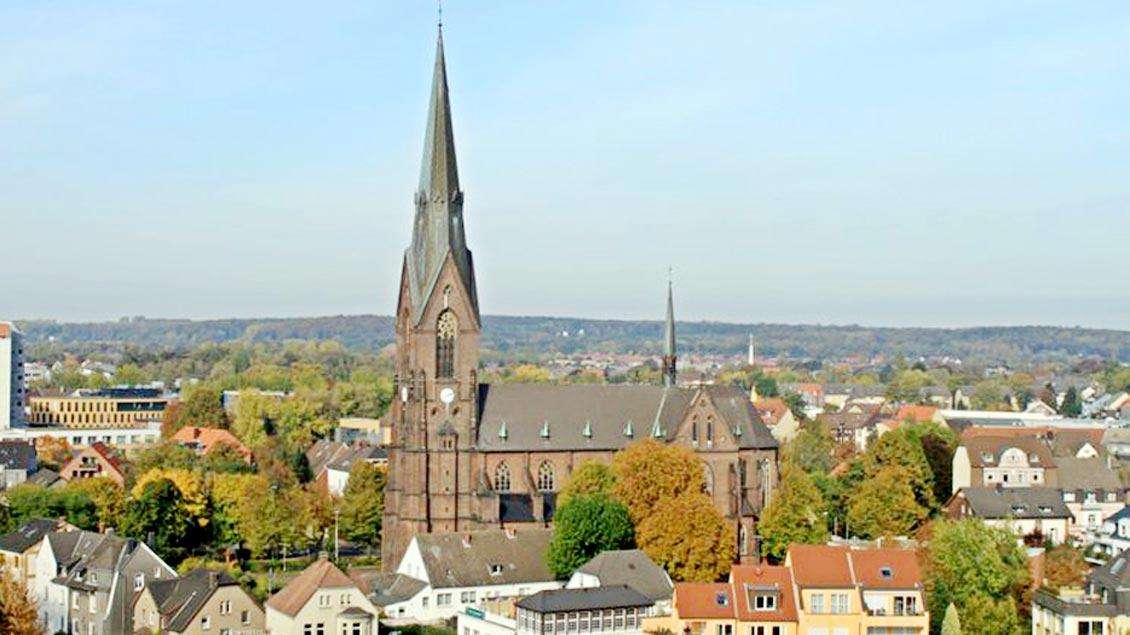 Die St.-Marien-Kirche in Lünen.
