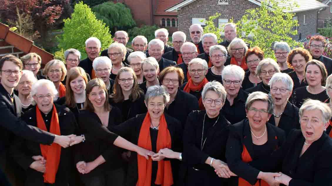 Der Kirchenchor Maria Frieden Vechta.