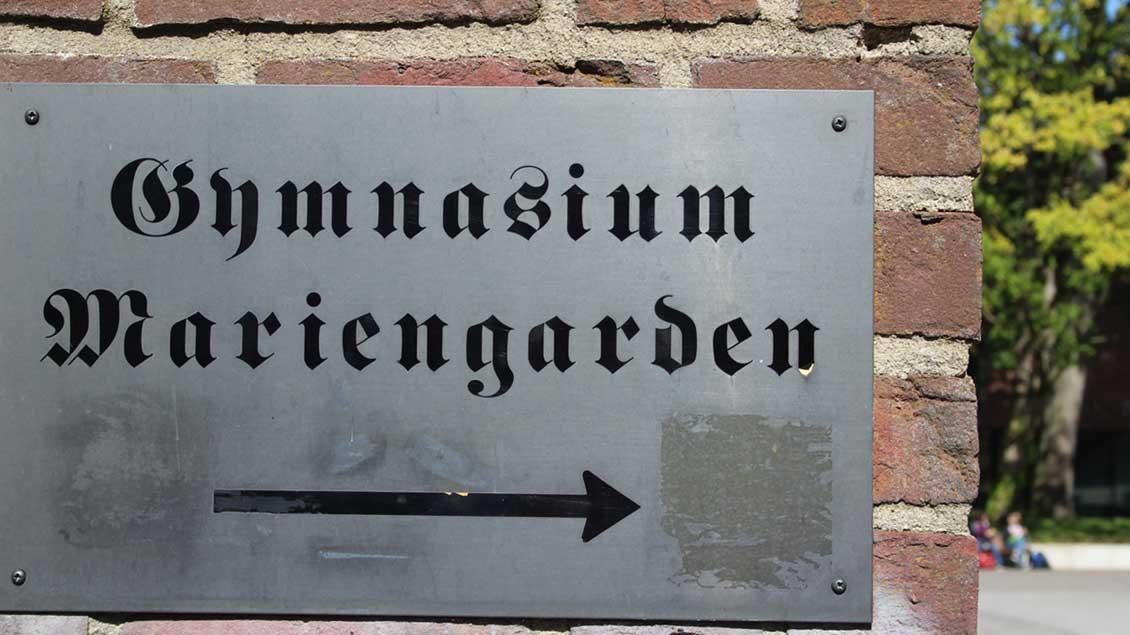 Gymnasium Mariengarden.