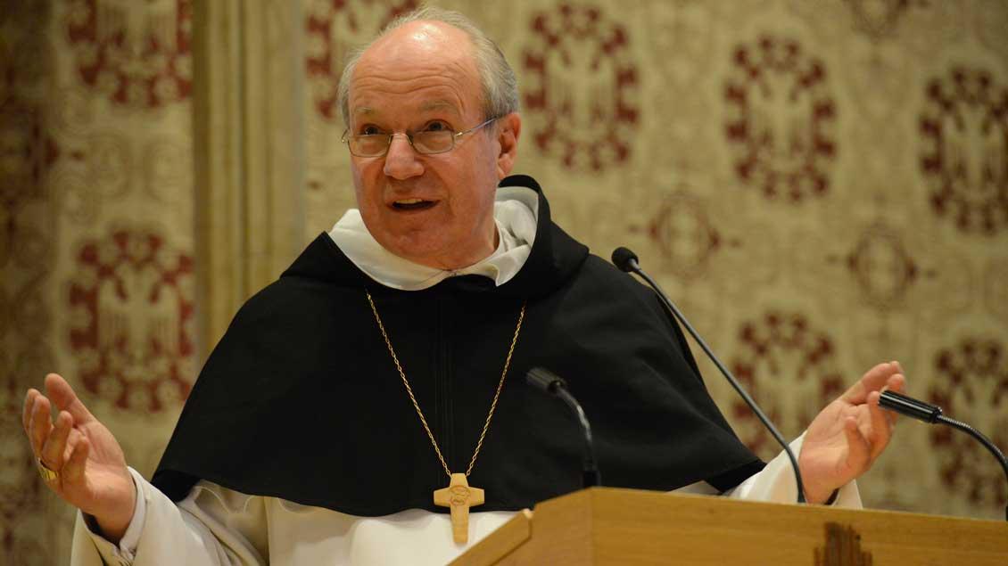 Kardinal Christoph Schönborn 2016 in Münster.