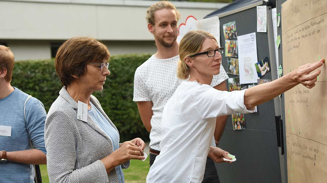 Politischen Abend der Jugendverbände in Münster