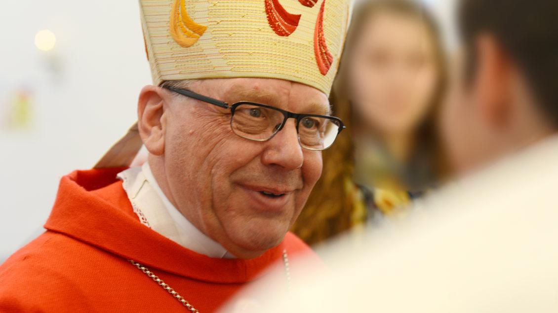 """Dieter Geerlings, emeritierte Weihbischof im Bistum Münster, will mehr Achtung vor der """"Lebensrealität"""" der Menschen."""