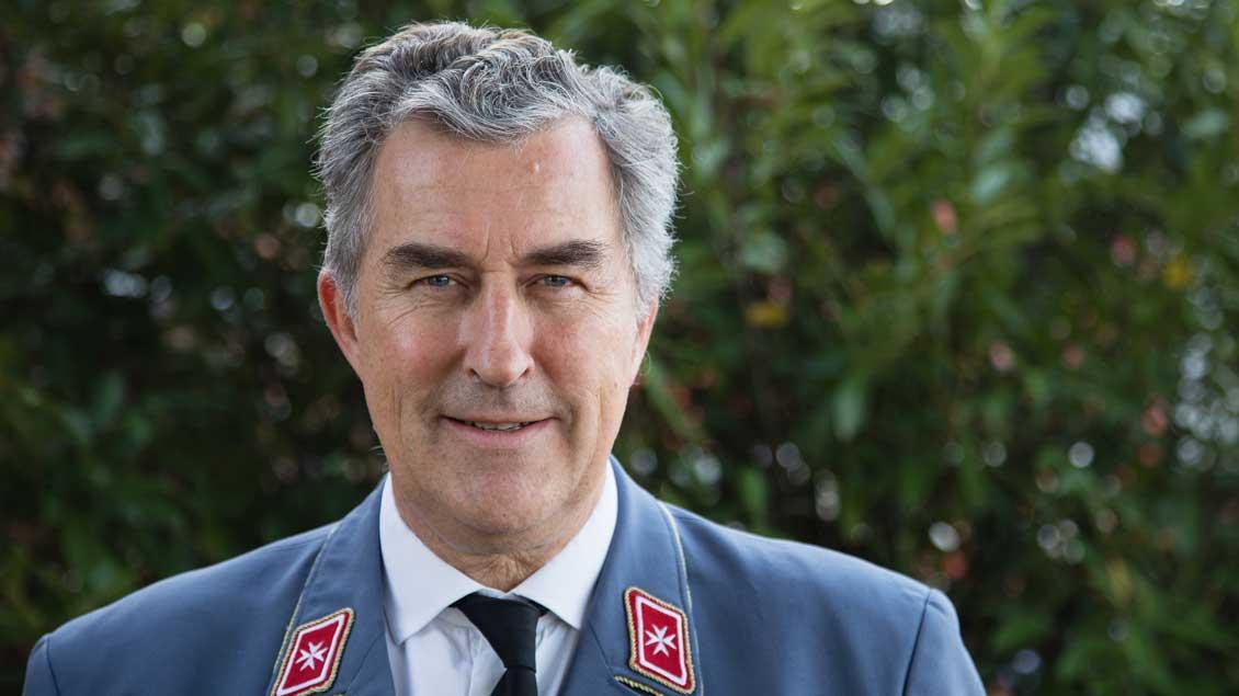 Georg Khevenhüller ist Präsident des Malteser Hilfsdienstes.
