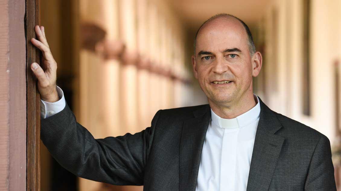 Bischof Franz Jung. Foto: Harald Oppitz (KNA)