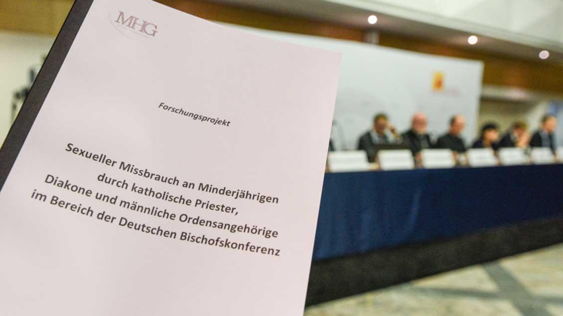 MGH-Studie der Deutschen Bischofskonferenz.
