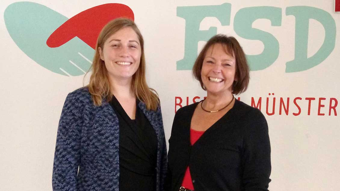 Kerstin Stegemann (links) wird in einem zweiten Amt Nachfolgerin von Angelika Frank. Foto: FSD