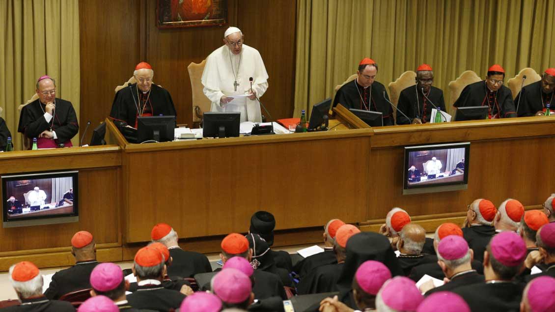 Eröffnung der Synode.