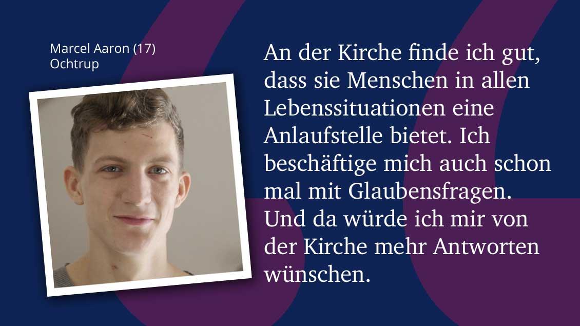 Marcel Aaron (17), Ochtrup.