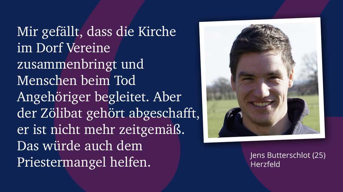 Jens Butterschlot (25), Herzfeld.