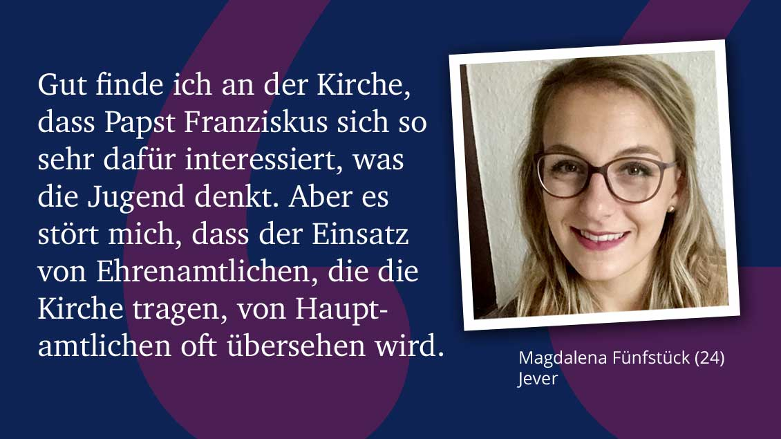 Magdalena Fünfstück (24), Jever.