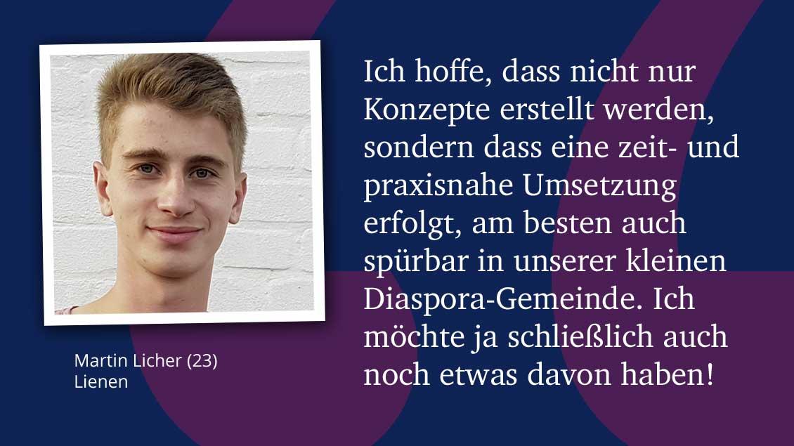 Martin Licher (23), Lienen.