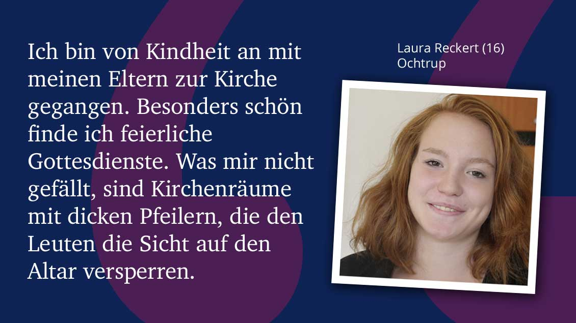 Laura Reckert (16), Ochtrup.