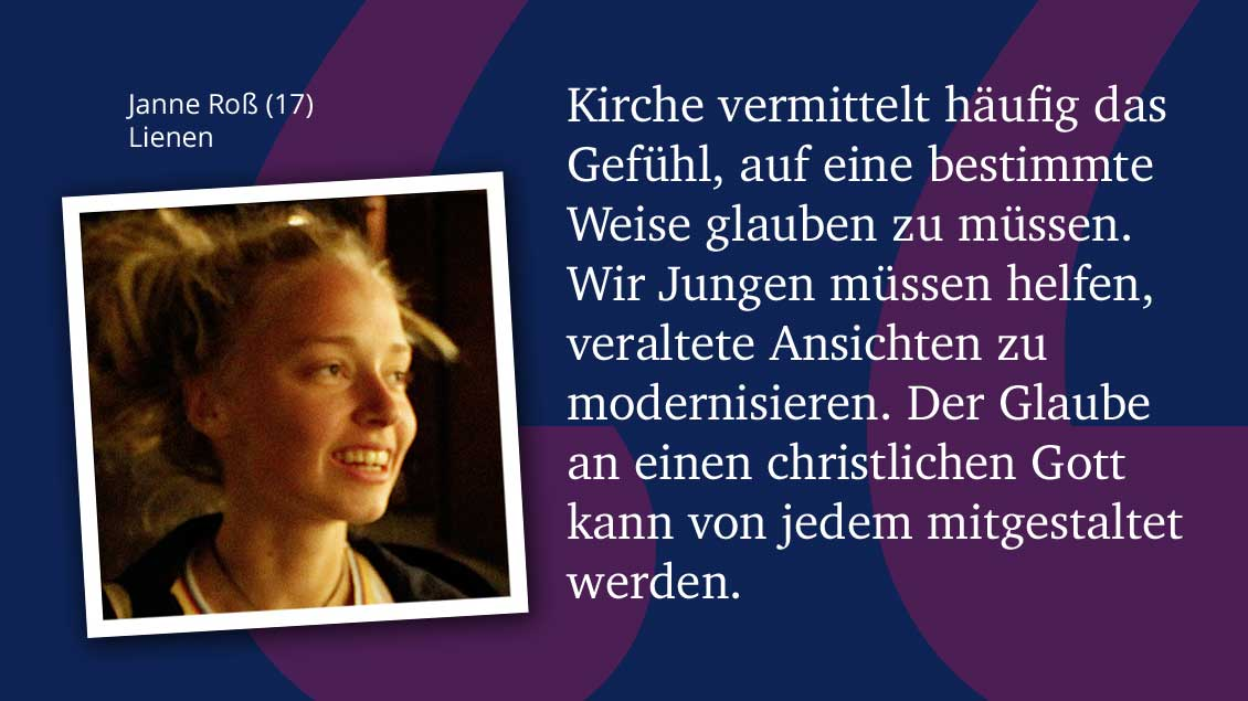 Janne Roß (17), Lienen.