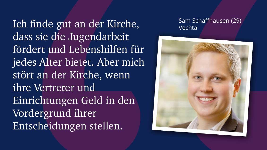 Sam Schaffhausen (29), Vechta.