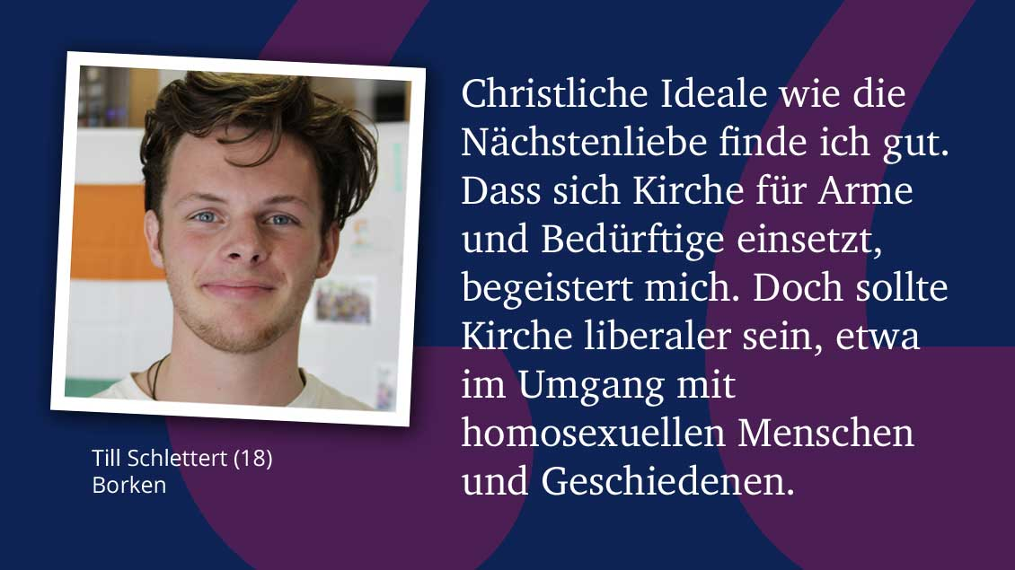 Till Schlettert (18), Borken.