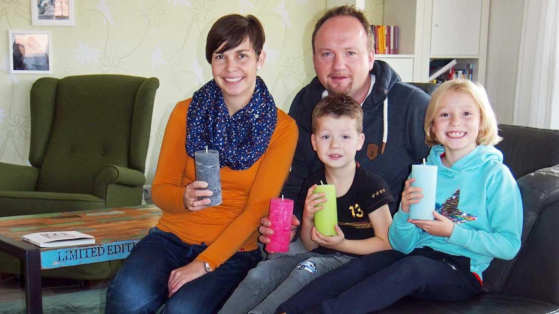 Familie Brömmler aus Münster. Foto: privat