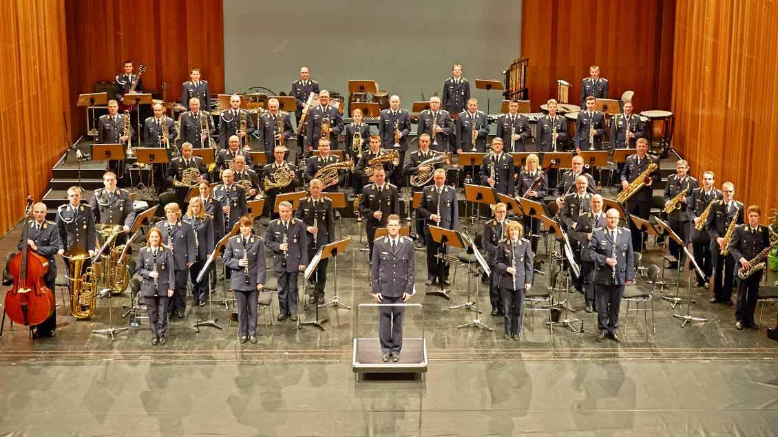 Luftwaffenmusikcorps Münster der Bundeswehr.