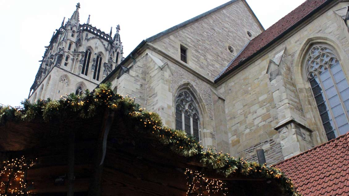 Überwasserkirche Münster. Foto: Melanie Ploch