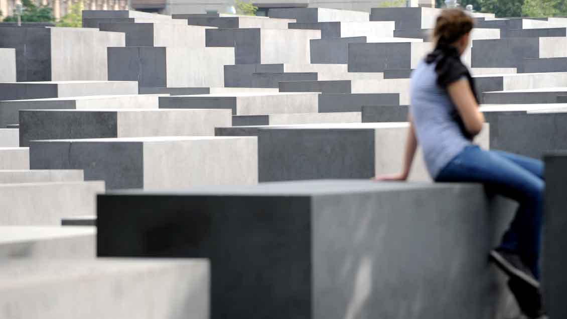 Das Holocaust-Mahnmal in Berlin. Foto: Michael Bönte
