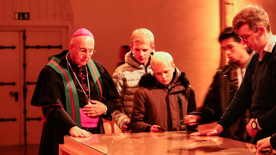 Bischof Genn: Ausgegrenzten helfen Foto: Gudrun Niewöhner (pbm)