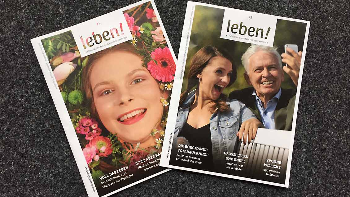 "Magazin ""leben!"" Foto: Christof Haverkamp"