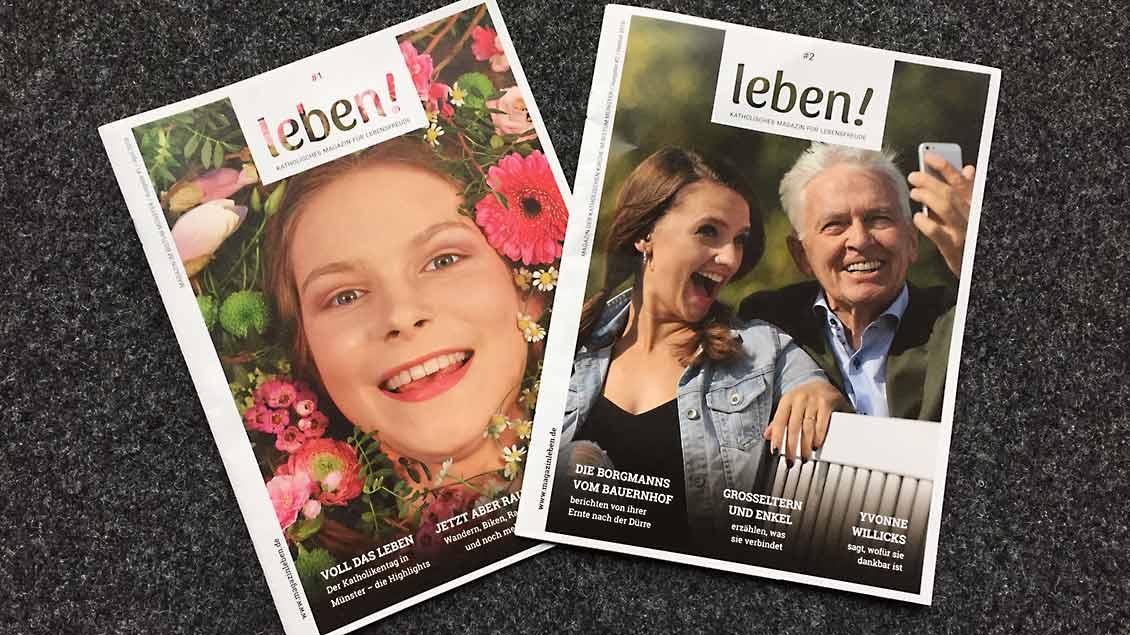 "Magazin ""leben!"""