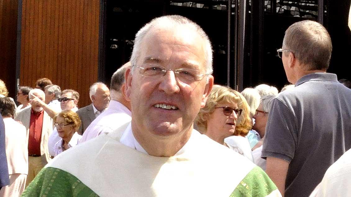 Pfarrer Herbert Werth.