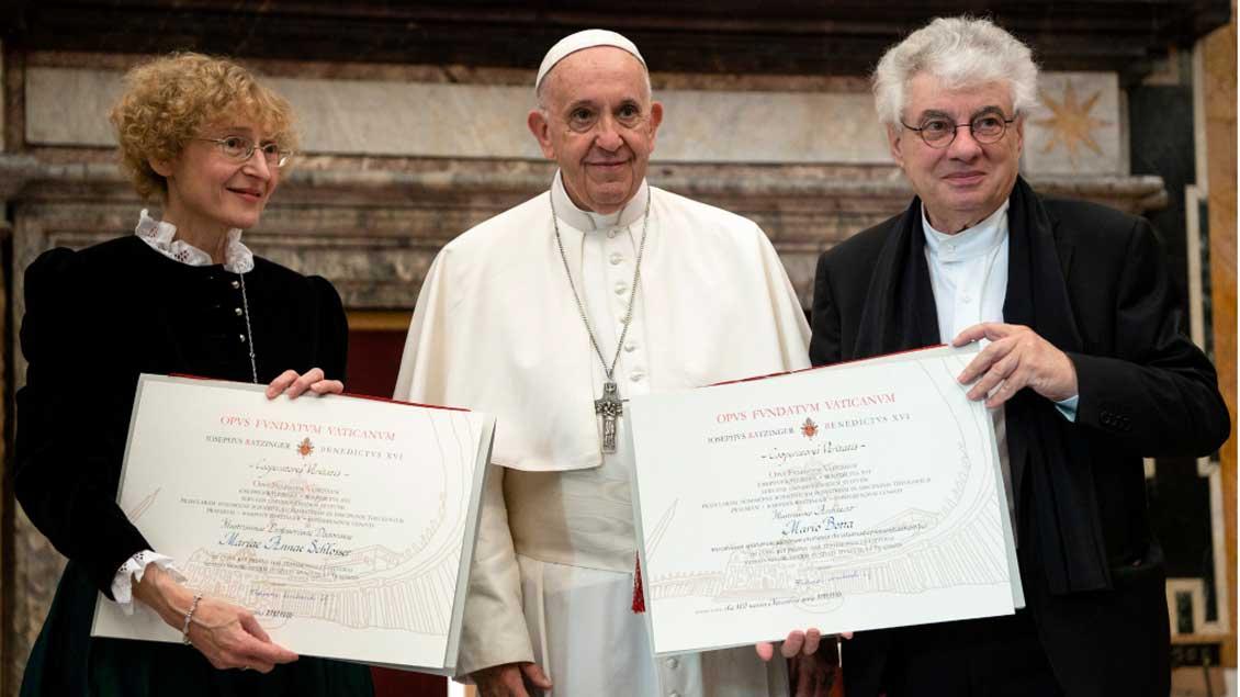 Marianne Schlosser erhält den Ratzingerpreis.