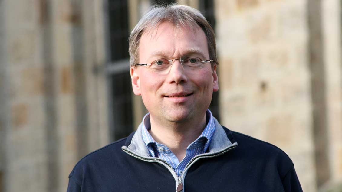 Pfarrer Stefan Jürgens.