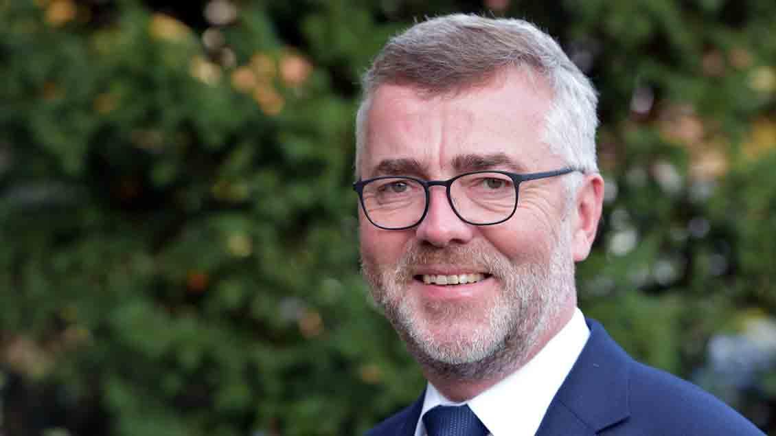 Pfarrer Bernd Strickmann aus Cloppenburg.