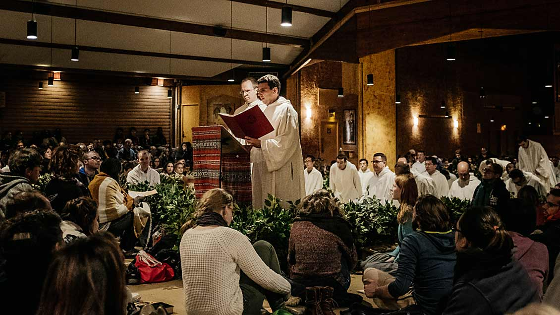 Taize-Treffen in Madrid