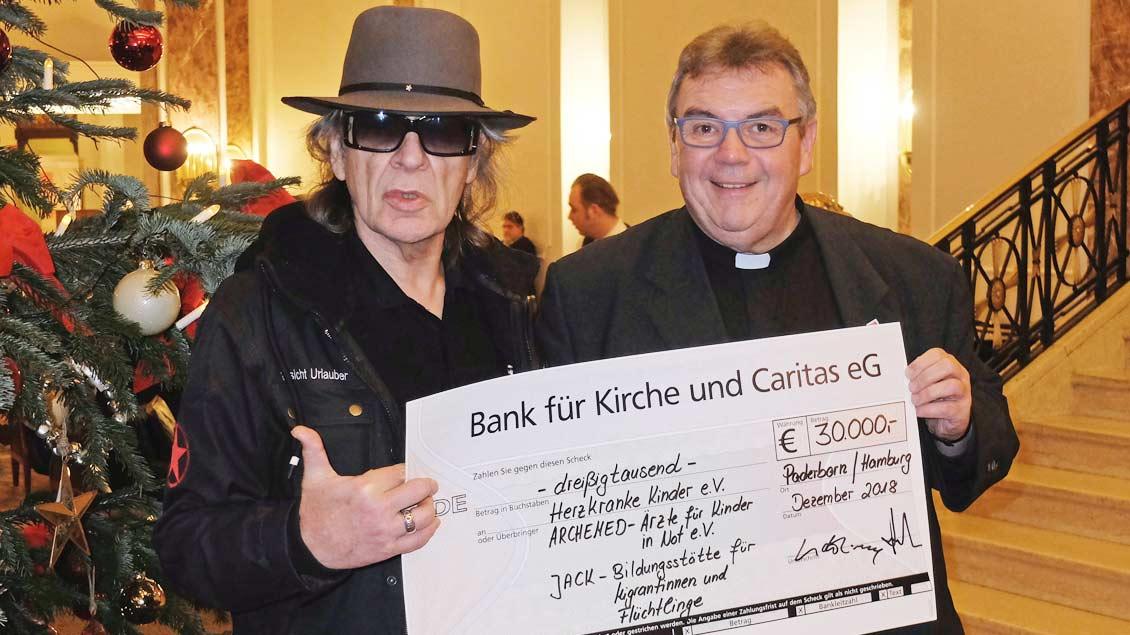 Udo Lindenberg und Georg Austen