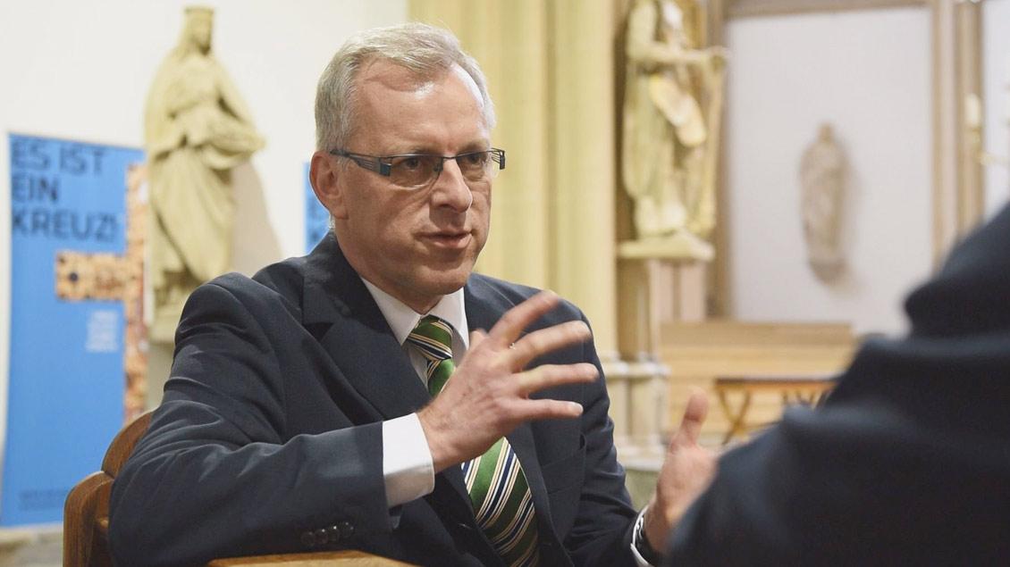 Pfarrer Markus Dördelmann Foto: Michael Bönte