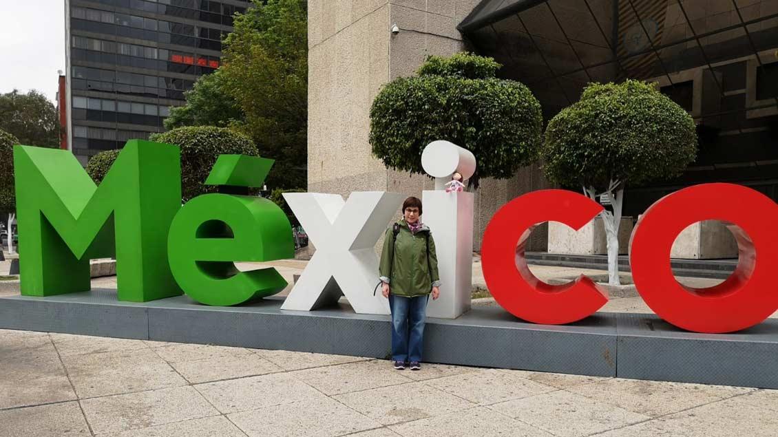 Los ging es für Stefanie Wieschnewski in Mexiko-Stadt.