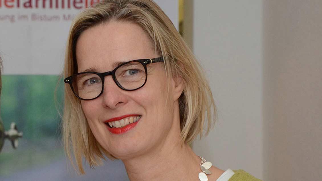 Andrea Stachon-Groth leitet seit Jahresanfang die Ehe-, Familien- und Lebensberatungsstellen im Bistum Münster.