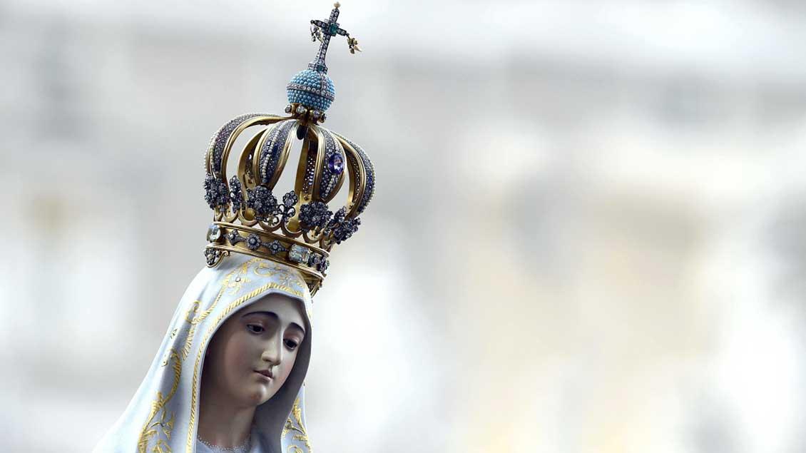 Marienstatue in Fatima.