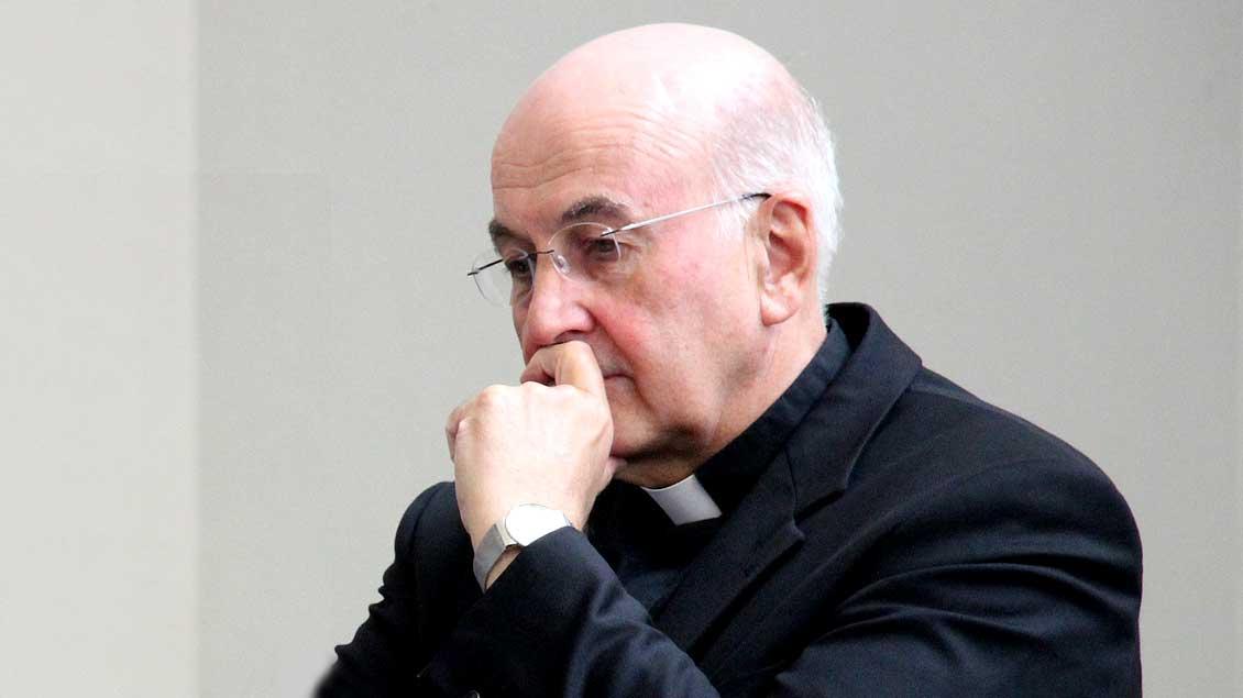 """""""Ich kann die Leute völlig verstehen, die sagen: Jetzt ist Schluss mit diesem Laden"""", bekannte Münsters Bischof Felix Genn."""