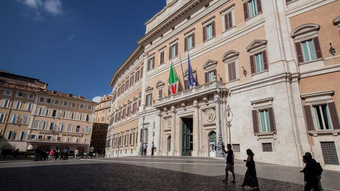Italiens Parlament spricht über Bannons Pläne
