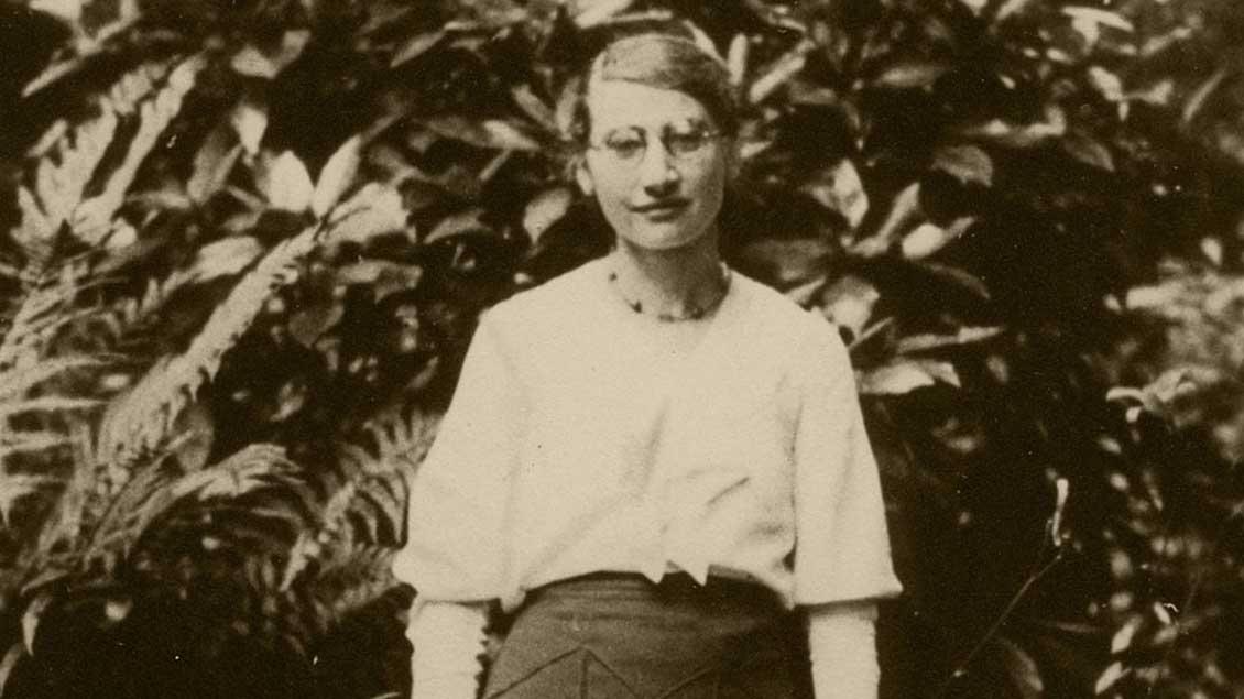 Die Jüdin Luise Löwenfels.