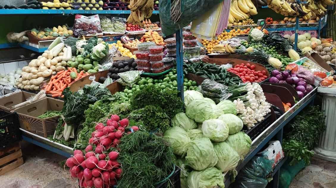 Ein Blick in die Markthallen von Tepeji del Rio.