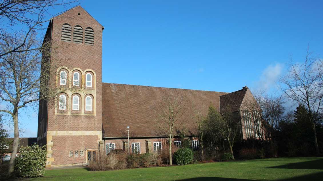 Die St.-Josef-Kirche in Greven.