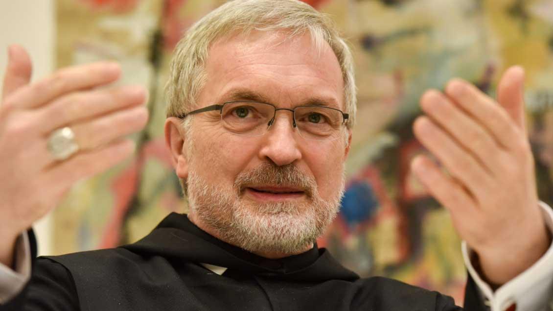 Bischof Gregor Maria Hanke.