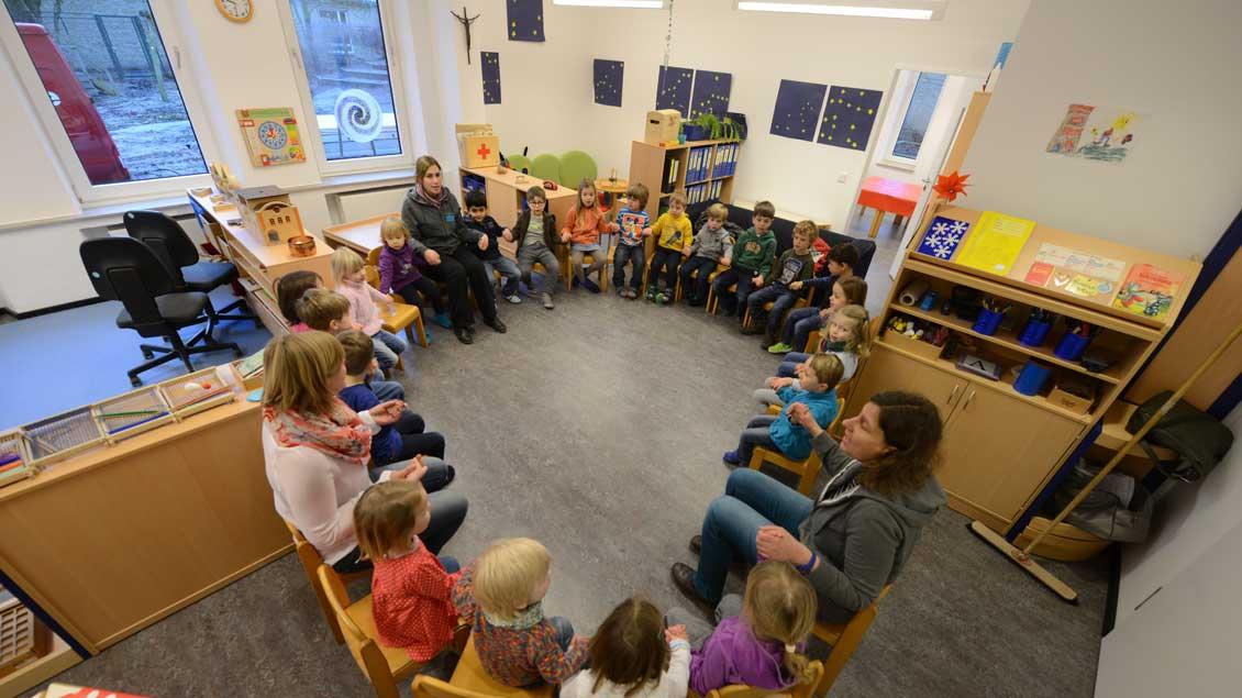 Katholischer Kindergarten.