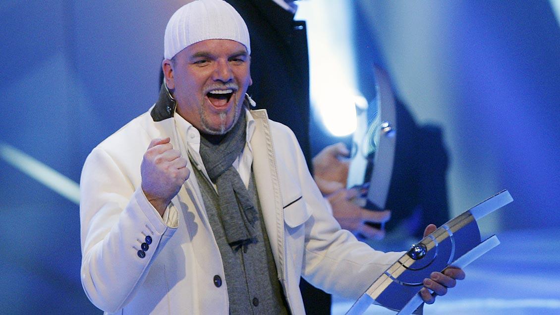 Musiker DJ Ötzi in Aktion Foto: Johannes Eisele (Reuters)