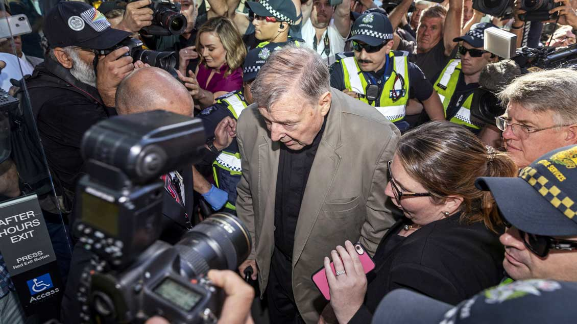 Kardinal George Pell Foto: Daniel Pockett (AAP via Reuters)