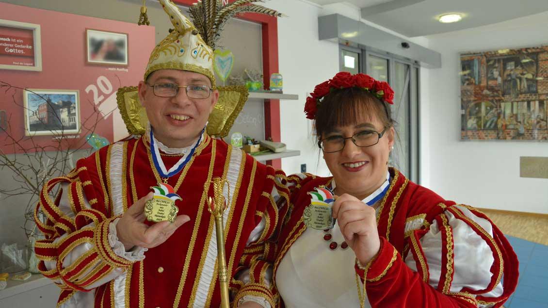 Uwe Elsner und Jasmin Tannous