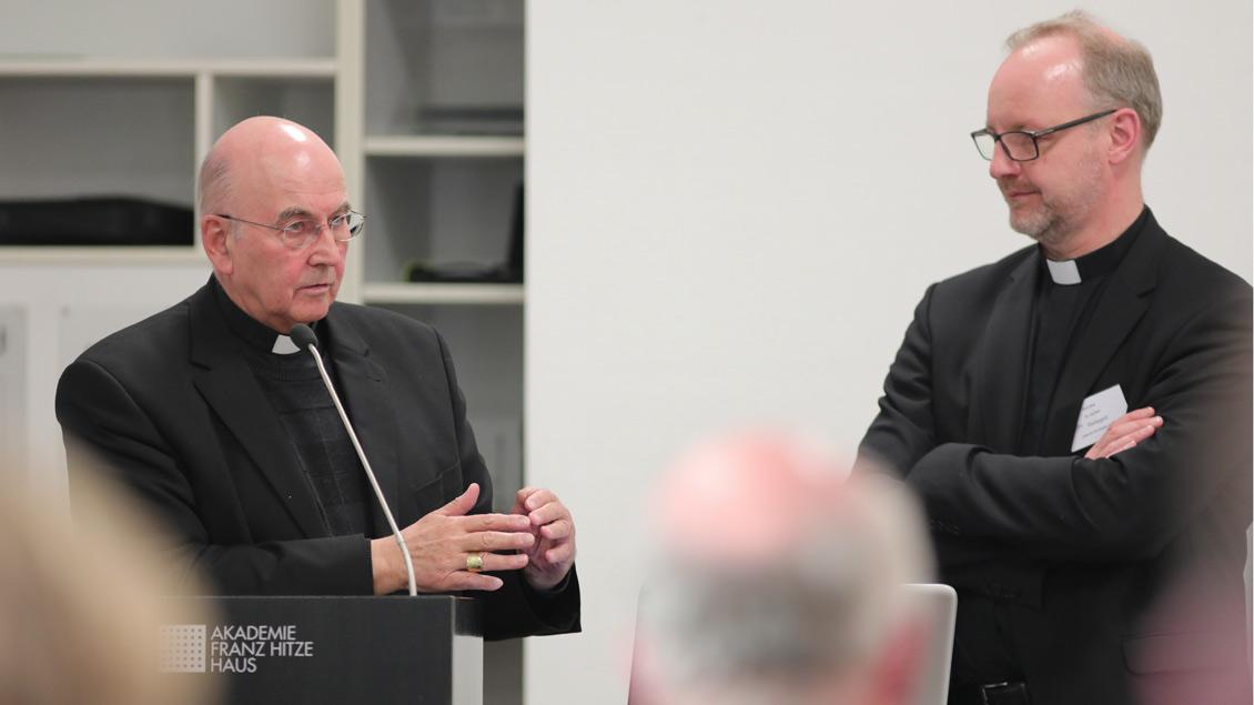 Bischof zur Aufarbeitung des Missbrauchs